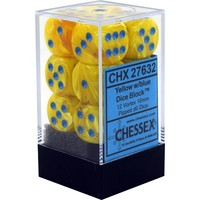 DICE SET 16mm VORTEX YELLOW-BLUE