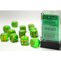 DICE SET 16mm VORTEX SLIME