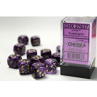 DICE SET 16mm VORTEX PURPLE
