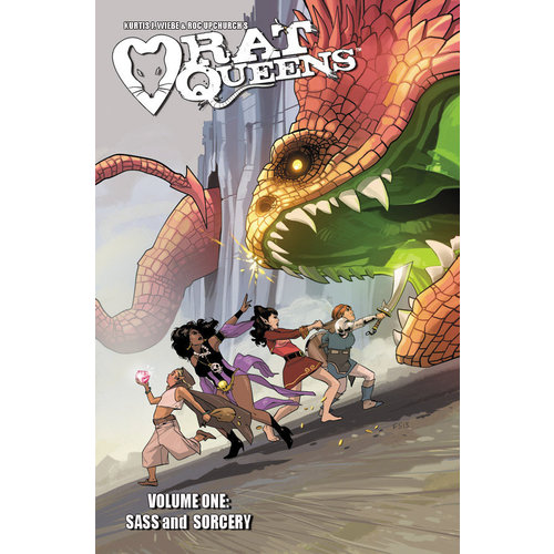 Diamond Comic Distributors RAT QUEENS: SASS & SORCERY - VOL 1