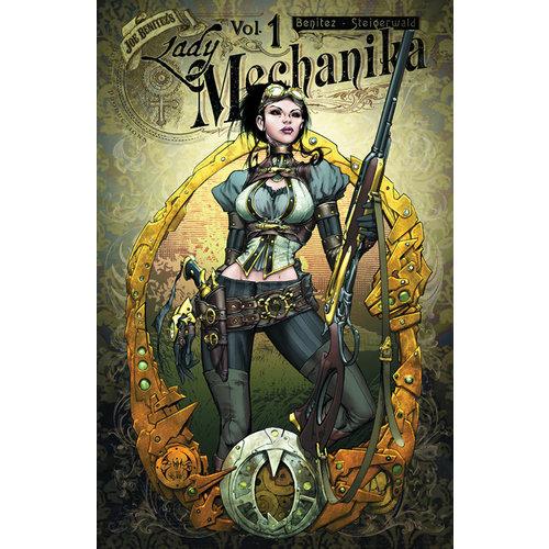 Diamond Comic Distributors LADY MECHANIKA: MYSTERY OF THE MECHANICAL CORPSE - VOL 1
