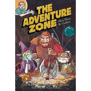 Diamond Comic Distributors ADVENTURE ZONE: HERE THERE BE GERBLINS - VOL 1