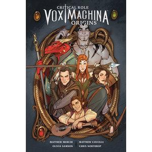 Diamond Comic Distributors CRITICAL ROLE: VOX MACHINA - ORIGINS - VOL 1