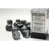 DICE SET 16mm SPECKLED HI-TECH