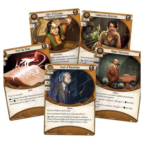 Fantasy Flight Games ARKHAM HORROR LCG: HARVEY WALTERS - INVESTIGATOR