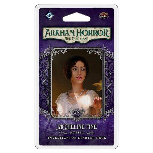 Fantasy Flight Games ARKHAM HORROR LCG: JACQUELINE FINE - INVESTIGATOR
