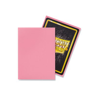DECK PROTECTOR: DRAGON SHIELD: MATTE PINK (100)
