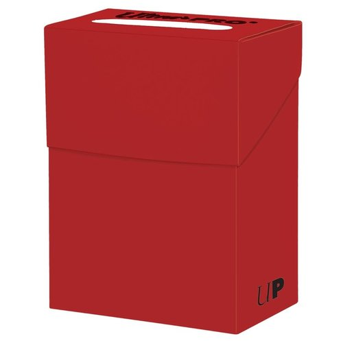 Ultra Pro International DECK BOX: SOLID RED