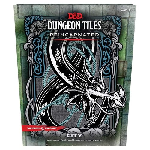 Wizards of the Coast D&D 5E: DUNGEON TILES REINCARNATED - CITY