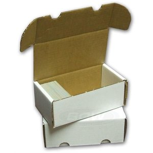 BCW Diversified CARDBOARD BOX: 400 COUNT