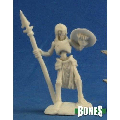 Reaper Miniatures BONES: SKELETON GUARDIAN SPEARMEN (3)