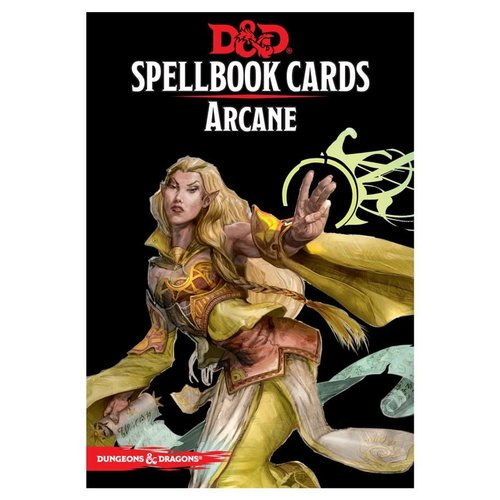 Gale Force Nine D&D 5E: SPELLBOOK CARDS - ARCANE DECK