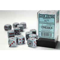 DICE SET 16mm SPECKLED AIR