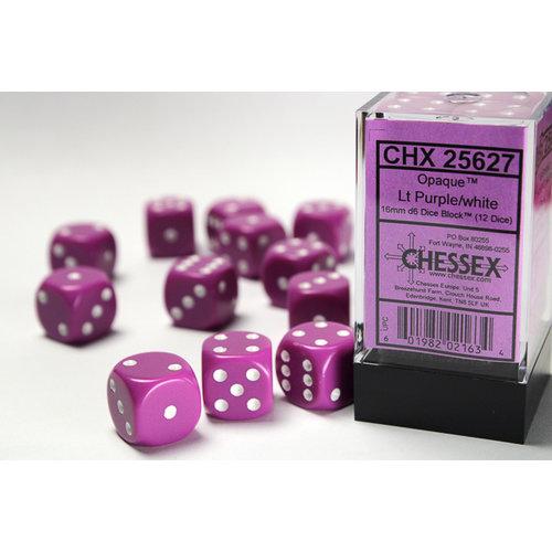 Chessex DICE SET 16mm OPAQUE LT PURPLE