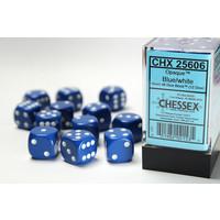 DICE SET 16mm: OPAQUE - BLUE