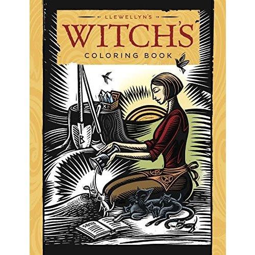 LLEWELLYN WORLDWIDE LLEWELLYN WITCH'S COLORING BOOK