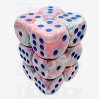 DICE SET 16mm FESTIVE POP ART