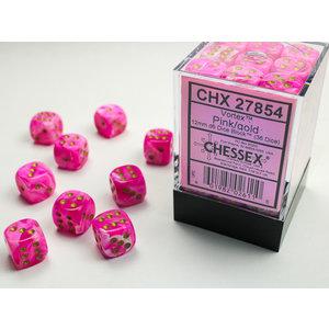Chessex DICE SET 12mm VORTEX PINK