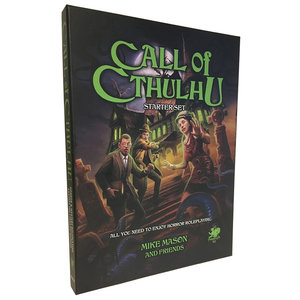 Chaosium CALL OF CTHULHU: 7TH EDITION STARTER SET