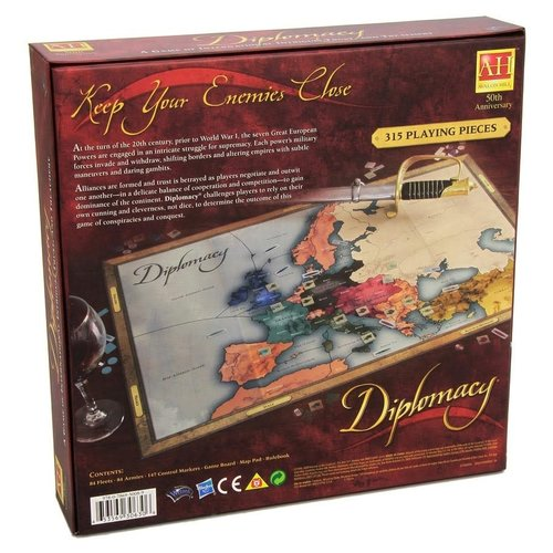 Wizards of the Coast DIPLOMACY - REVISED EDITION