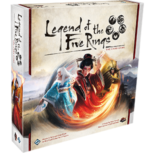 Fantasy Flight Games LEGEND OF THE FIVE RINGS - THE CARD GAME: CORE SET