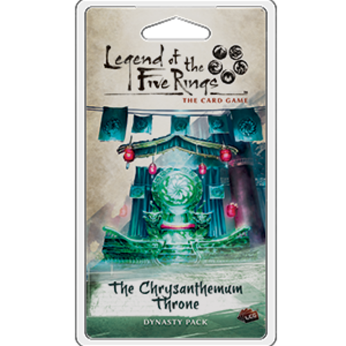 Fantasy Flight Games LEGEND OF THE FIVE RINGS - THE CARD GAME: CHRYSANTHEMUM THRONE