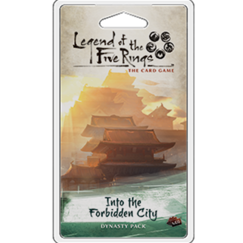 Fantasy Flight Games LEGEND OF THE FIVE RINGS - THE CARD GAME: INTO THE FORBIDDEN CITY