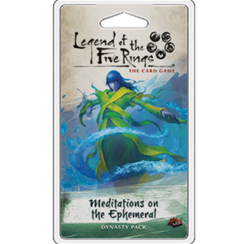 Fantasy Flight Games LEGEND OF THE FIVE RINGS - THE CARD GAME: MEDITATIONS ON THE EPHEMERAL