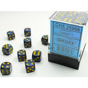 Chessex DICE SET 12mm SPECKLED TWILIGHT