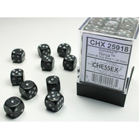 DICE SET 12mm SPECKLED NINJA
