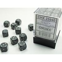 DICE SET 12mm SPECKLED HI-TECH