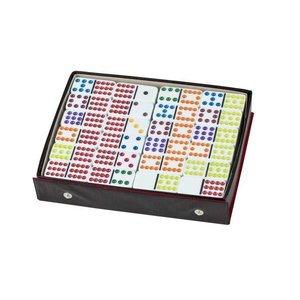 CHH QUALITY PRODUCTS DOMINOES DOUBLE 12 COLOR DOT