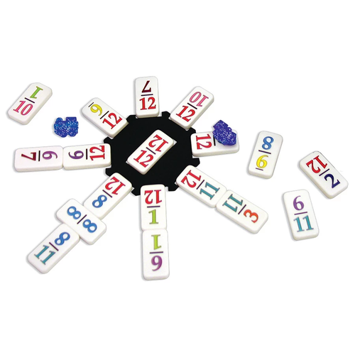 Puremco DOMINOES DOUBLE 12 MEXICAN TRAIN TO GO TRAVEL