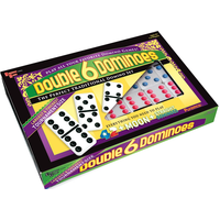 DOMINOES DOUBLE 6 STANDARD COLOR DOT