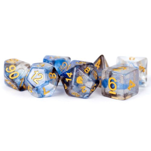 Metallic Dice Company DICE SET 7: UNICORN - ARCTIC STORM