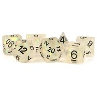 DICE SET 7: ICY OPAL - CLEAR