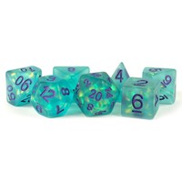 DICE SET 7: ICY OPAL - TEAL