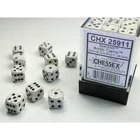 DICE SET 12mm SPECKLED ARCTIC CAMO