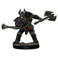 MINIS: PATHFINDER BATTLES: HALF-ORC MALE BARBARIAN