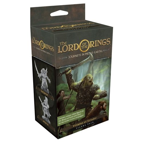 Fantasy Flight Games THE LORD OF THE RINGS: JOURNEYS IN MIDDLE EARTH - VILLAINS OF ERIADOR