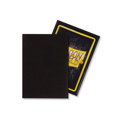 Arcane Tinmen DECK PROTECTOR: DRAGON SHIELDS: MATTE BLACK (100)