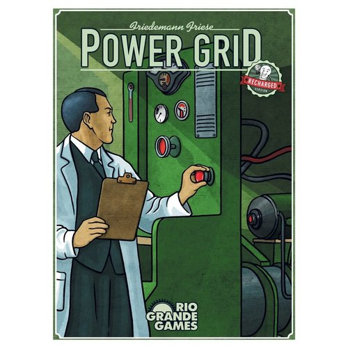 Rio Grande Games POWER GRID RECHARGED