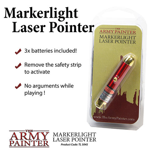 The Army Painter TOOLS: MARKER LIGHT LASER POINTER