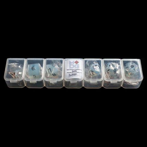 Metallic Dice Company DICE SET 7 STONE: OPALITE