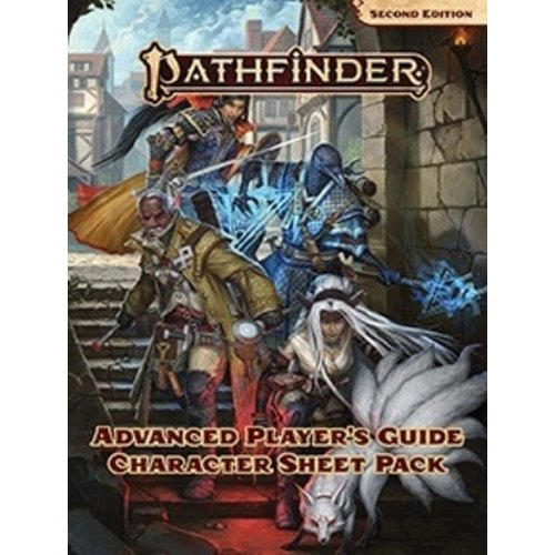 Paizo Publishing PATHFINDER 2ND EDITION: ADVANCED PLAYER GUIDE - CHARACTER SHEETS