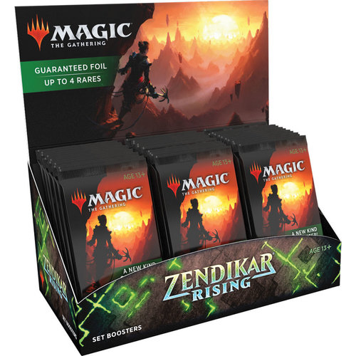 Wizards of the Coast MTG: ZENDIKAR RISING - SET BOOSTER