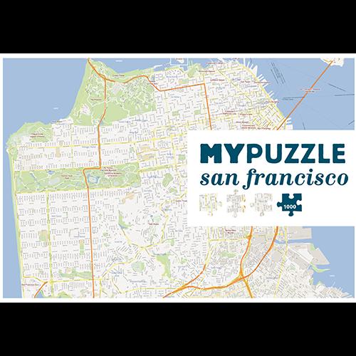 Asmodee ASM1000 MYPUZZLE - SAN FRANCISCO