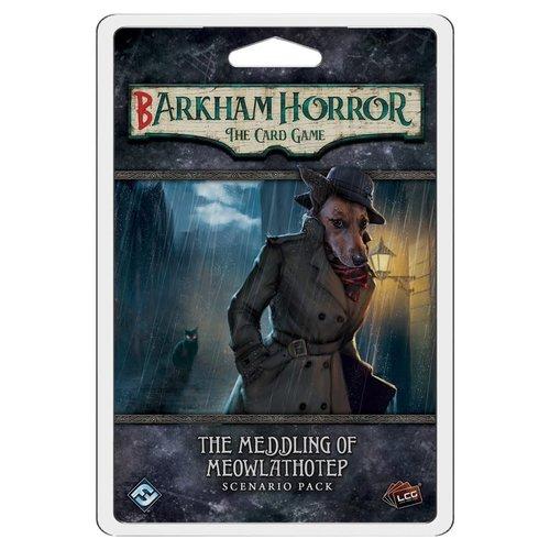 Fantasy Flight Games ARKHAM HORROR LCG: BARKHAM HORROR: THE MEDDLING OF MEOWLATHOTEP