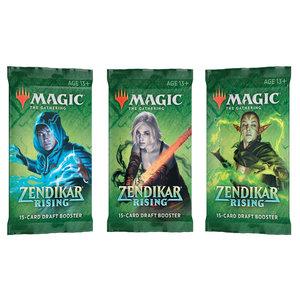 Wizards of the Coast MTG: ZENDIKAR RISING - DRAFT BOOSTER