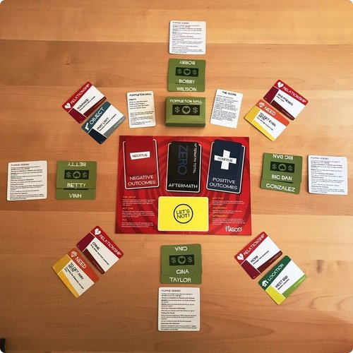 Bully Pulpit Games FIASCO CARD GAME